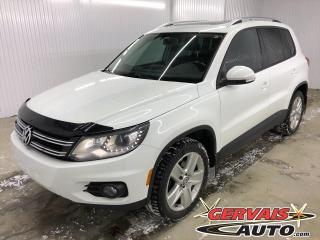 Used 2015 Volkswagen Tiguan Comfortline Sport 4Motion Cuir Toit Panoramique *Traction intégrale* for sale in Shawinigan, QC