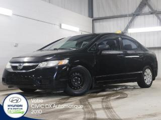 Used 2010 Honda Civic DX AUTOMATIQUE for sale in Val-David, QC