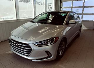 Used 2018 Hyundai Elantra GL + CAMERA + VOLANT CHAUFFANT for sale in Ste-Julie, QC