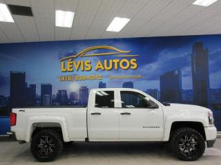 Used 2018 Chevrolet Silverado 1500 V8 5.3L DOUBLE CAB 4X4 BEAU LOOK GARANTI for sale in Lévis, QC