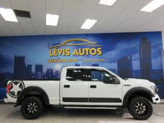 Used 2018 Ford F-150 XLT V8 5.0L SUPERCREW CAB BOITE 6½ BEAU for sale in Lévis, QC