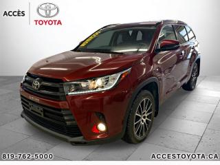 Used 2017 Toyota Highlander AWD SE for sale in Rouyn-Noranda, QC