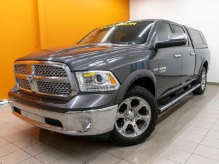 Used 2017 RAM 1500 LARAMIE CREW 4X4 NAVIGATION TOIT OUVRANT *CUIR* for sale in Mirabel, QC