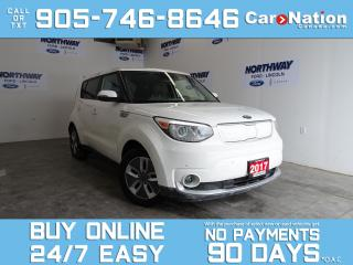 Used 2017 Kia Soul EV LUXURY | ELECTRIC | LEATHER | NAV | ONLY 31 KM! for sale in Brantford, ON