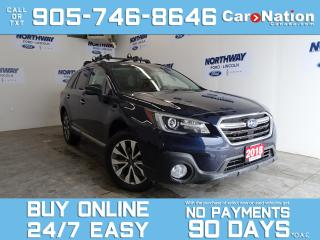 Used 2018 Subaru Outback PREMIER | AWD | EYESIGHT PKG | LEATHER | ROOF |NAV for sale in Brantford, ON