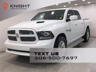 Used 2013 RAM 1500 Sport Crew Cab | Leather | Sunroof | Navigation | DVD | for sale in Regina, SK