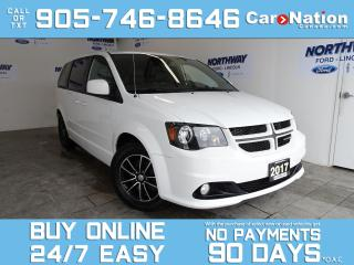 Used 2017 Dodge Grand Caravan GT | LEATHER | NAV | DVD | SAFETY SPHERE GROUP for sale in Brantford, ON