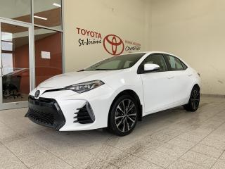 Used 2017 Toyota Corolla * SE * MAGS * CAMERA DE RECUL * TOIT OUVRANT * for sale in Mirabel, QC