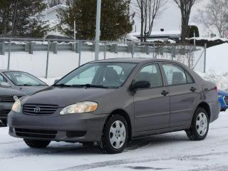 Used 2004 Toyota Corolla CE AUTOMATIQUE AIR CLIMATISÉ for sale in St-Georges, QC