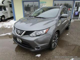 Used 2018 Nissan Qashqai ALL-WHEEL DRIVE SL MODEL 5 PASSENGER 2.0L - DOHC.. NAVIGATION.. LEATHER.. HEATED SEATS & WHEEL.. BACK-UP CAMERA.. BLUETOOTH.. POWER SUNROOF.. for sale in Bradford, ON