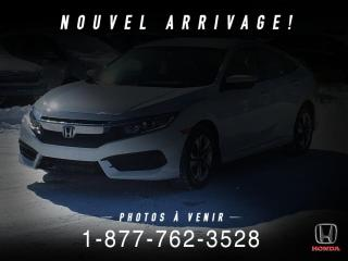 Used 2018 Honda Civic LX + CVT + A/C + CRUISE + WOW ! for sale in St-Basile-le-Grand, QC