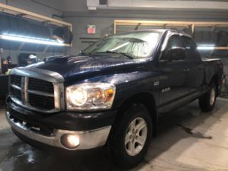Used 2008 Dodge Ram 1500 TRX Quad Cab 4WD Hemi * Back Rack * Delta Tool Box * Cruise Control * Vinyl Floors * 6 Passenger * AM/FM/CD/Aux * Automatic Drivers Window * 12V DC Ou for sale in Cambridge, ON