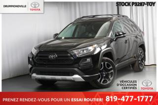 Used 2019 Toyota RAV4 TRAIL  ** 3500LBS DE CAPACITÉ DE REMORQUAGE!! ** for sale in Drummondville, QC