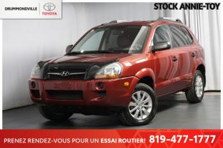 Used 2009 Hyundai Tucson COMME NEUF| BAS KILO| ÉCONOMIQUE for sale in Drummondville, QC