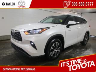New 2021 Toyota Highlander HYBRID XLE for sale in Regina, SK