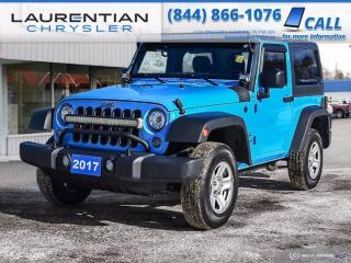 Used 2017 Jeep Wrangler Sport!! 4WD!! COMPACT!! BLUETOOTH!! for sale in Sudbury, ON