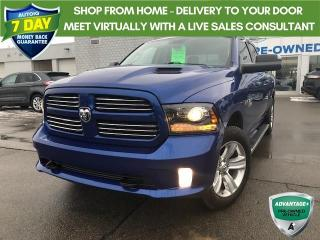 Used 2016 RAM 1500 Sport CREW CAB 4X4 CERTIFIED! for sale in Hamilton, ON