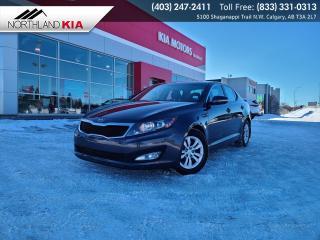 Used 2013 Kia Optima LX HEATED SEATS, BLUETOOTH for sale in Calgary, AB