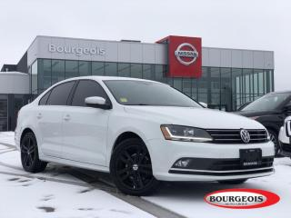 Used 2017 Volkswagen Jetta 1.8 TSI Highline LEATHER, HEATED SEATS for sale in Midland, ON