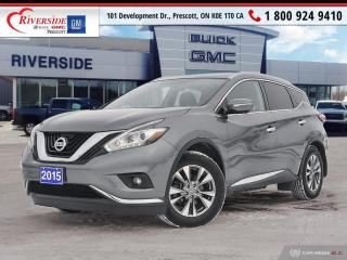 Used 2015 Nissan Murano SL for sale in Prescott, ON