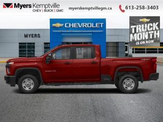 New 2021 Chevrolet Silverado 2500 HD Work Truck for sale in Kemptville, ON