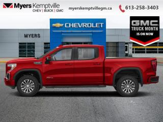 New 2021 GMC Sierra 1500 AT4  - Diesel Engine for sale in Kemptville, ON
