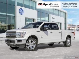 Used 2020 Ford F-150 King Ranch  -  Navigation -  Wood Trim for sale in Kanata, ON