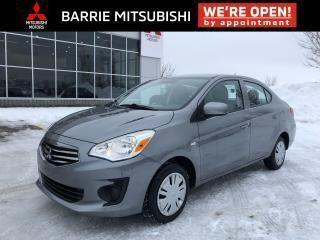 Used 2017 Mitsubishi Mirage ES AUTOMATIC for sale in Barrie, ON
