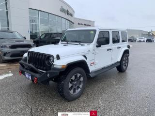 Used 2018 Jeep Wrangler Unlimited Nav/Heated Seats and Wheel/Dual Top for sale in Chatham, ON