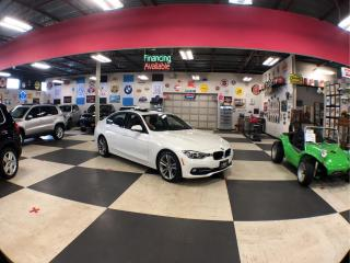 Used 2017 BMW 3 Series 320I X DRIVE SPORT   NAVI PKG AUT0 BACK UP CAM LEATHER SUNROOF 37K for sale in North York, ON