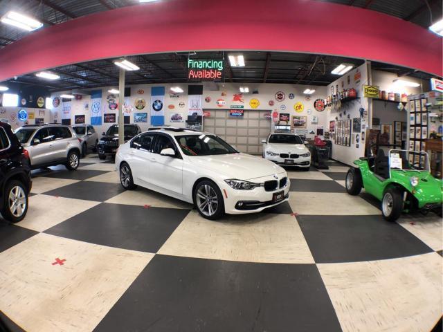 2017 BMW 3 Series 320I X DRIVE SPORT   NAVI PKG AUT0 BACK UP CAM LEATHER SUNROOF 78K