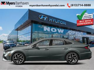 New 2021 Hyundai Sonata 2.5T N Line  - Sunroof -  Heated Seats - $234 B/W for sale in Nepean, ON