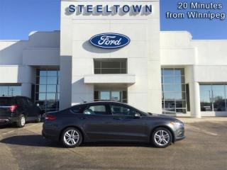 Used 2018 Ford Fusion SE FWD  - Bluetooth -  SiriusXM for sale in Selkirk, MB