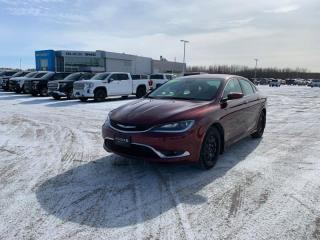 Used 2016 Chrysler 200 Limited  *LOW KMS, W/WINTER TIRES* for sale in Selkirk, MB
