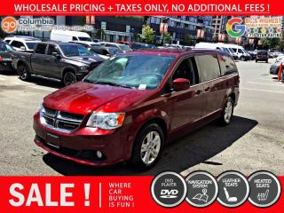 Used 2020 Dodge Grand Caravan Crew Plus - No Accident / DVD / Nav / Local for sale in Richmond, BC