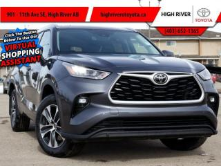 New 2021 Toyota Highlander XLE    AWD for sale in High River, AB
