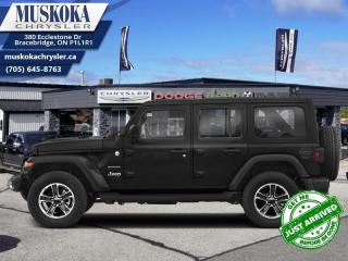 New 2021 Jeep Wrangler Unlimited Sahara  - Navigation for sale in Bracebridge, ON