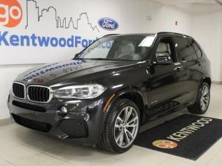 Used 2016 BMW X5 35i xDrive | Heated Leather | M Sport | NAV | LOW km | Sunroof for sale in Edmonton, AB