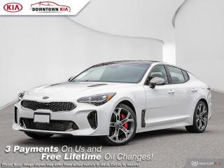 New 2021 Kia Stinger GT Limited RED INT. for sale in Vancouver, BC