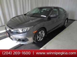 Used 2017 Honda Civic Sedan LX *Always Owned In Manitoba!* for sale in Winnipeg, MB
