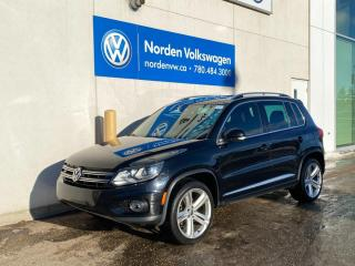 Used 2015 Volkswagen Tiguan HIGHLINE R LINE! LEATHER / NAVI + TECH PKG / CERTIFIED for sale in Edmonton, AB