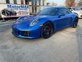Used 2018 Porsche 911 Carrera 4 GTS-SOLD SOLD for sale in Stoney Creek, ON