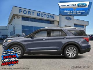 New 2021 Ford Explorer XLT High Package  - Activex Seats - $389 B/W for sale in Fort St John, BC