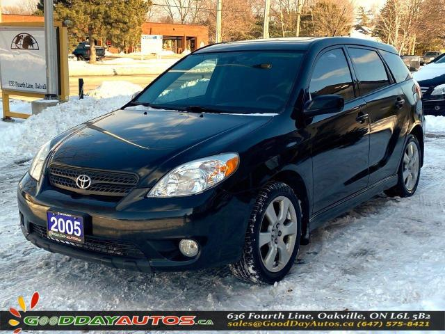 2005 Toyota Matrix XR|LOW KM|NO ACCIDENT|SUNROOF|WARRANTY|CERTIFIED