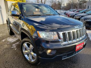 Used 2012 Jeep Grand Cherokee Overland/4WD/NAVI/CAMERA/LEATHER/ROOF/LOADED/ALLOY for sale in Scarborough, ON