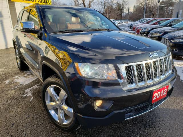 2012 Jeep Grand Cherokee Overland/4WD/NAVI/CAMERA/LEATHER/ROOF/LOADED/ALLOY