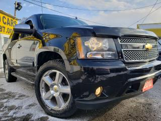 Used 2012 Chevrolet Avalanche LT/4WD/LEATHER/ROOF/BT/CAMERA/TOW/TONNEAU COVER++ for sale in Scarborough, ON