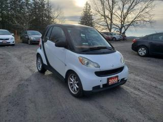 Used 2008 Smart fortwo PANORAMIC SUNROOF LOW KMS CERTIFED for sale in Stouffville, ON