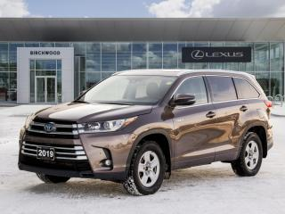 Used 2019 Toyota Highlander Hybrid Limited for sale in Winnipeg, MB