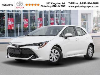 New 2021 Toyota Corolla Hatchback Corolla Hatchback CVT for sale in Pickering, ON